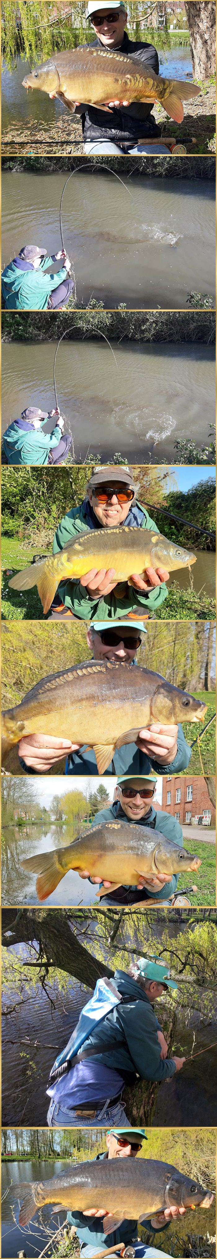 carp angling fly fishing